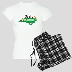 2017 NC Corgi Picnic logo Women's Light Pajamas