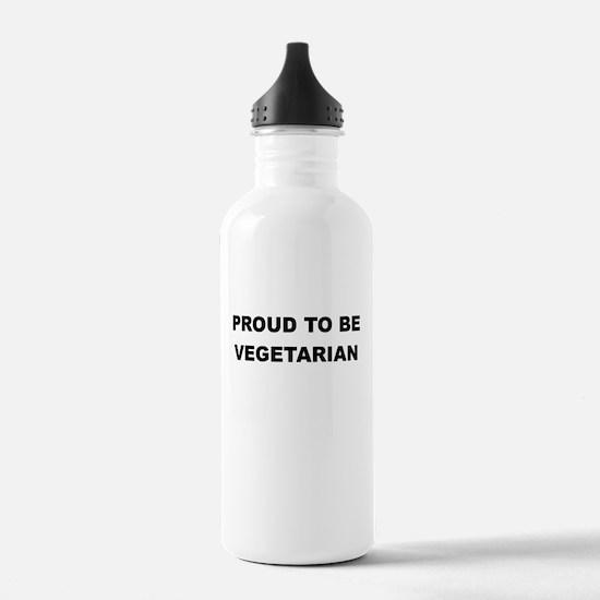 PROUD TO BE VEGETARIAN Water Bottle