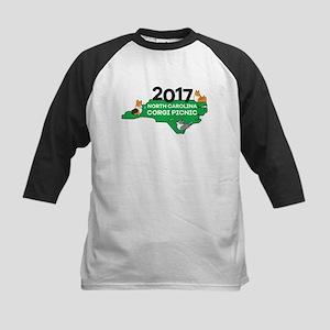 2017 NC Corgi Picnic logo Kids Baseball Jersey