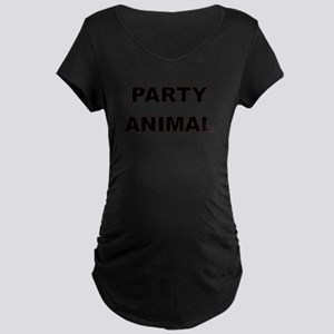 PARTY ANIMAL Maternity T-Shirt