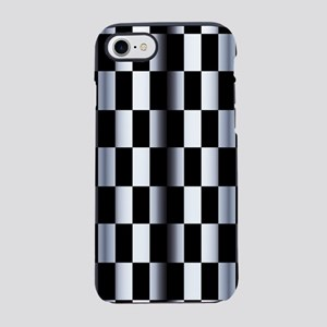 Abstract Checkerboard iPhone 7 Tough Case
