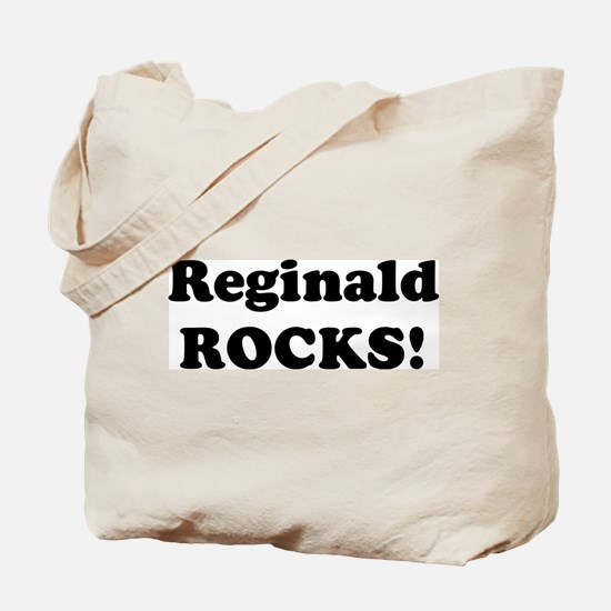 Reginald Rocks! Tote Bag