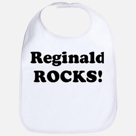 Reginald Rocks! Bib