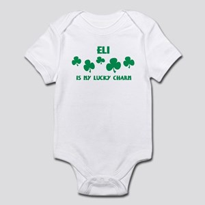 Eli is my lucky charm Infant Bodysuit