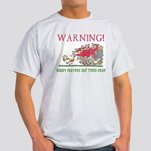 Funny Rugby Ash Grey T-Shirt