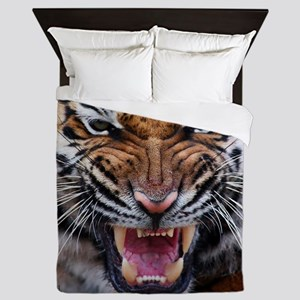 Tigers, Big Cat Football Queen Duvet