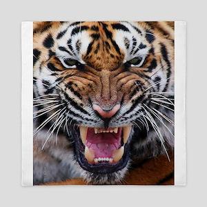 Tigers, Big Cat Football Queen Duvet