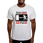 Clamp, Cut, and Run Ash Grey T-Shirt