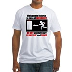 Clamp, Cut, and Run Fitted T-Shirt