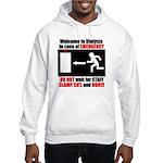 Clamp, Cut, and Run Hooded Sweatshirt