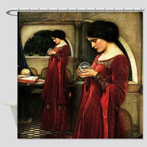 Crystal Ball Waterhouse Shower Curtain