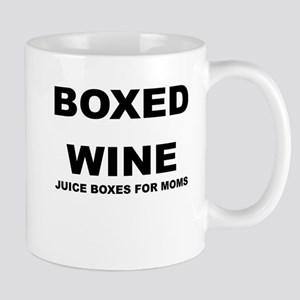 BOXED WINE JUICE BOXES FOR MOM Mugs