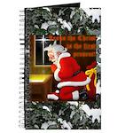 'Santa knelt' Journal