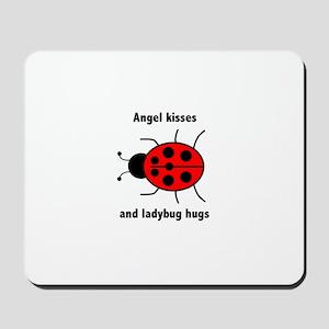 Ladybug with Angel kisses and ladybug hugs Mousepa