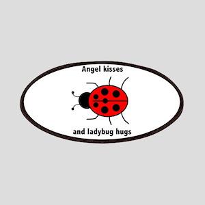 Ladybug with Angel kisses and ladybug hugs Patches