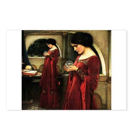 Crystal Ball Waterhouse Postcards (Package of 8)