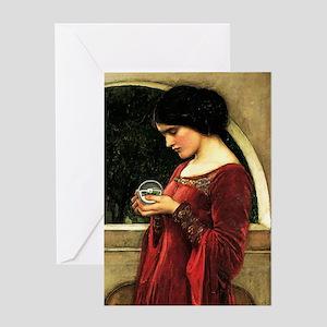 Crystal Ball Waterhouse Greeting Cards
