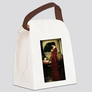 Crystal Ball Waterhouse Canvas Lunch Bag