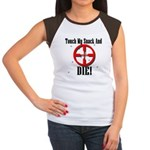 Touch My Snack And Die! Women's Cap Sleeve T-Shirt