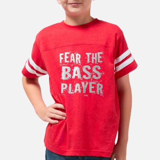 fear the bass player wht 2010 Youth Football Shirt