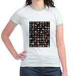 Hubble Space Telescope Jr. Ringer T-Shirt