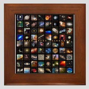 Hubble Space Telescope Framed Tile