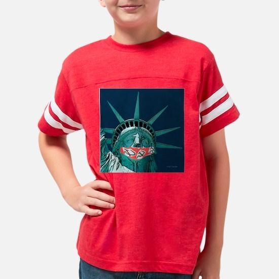 Socialism gags individual lib Youth Football Shirt