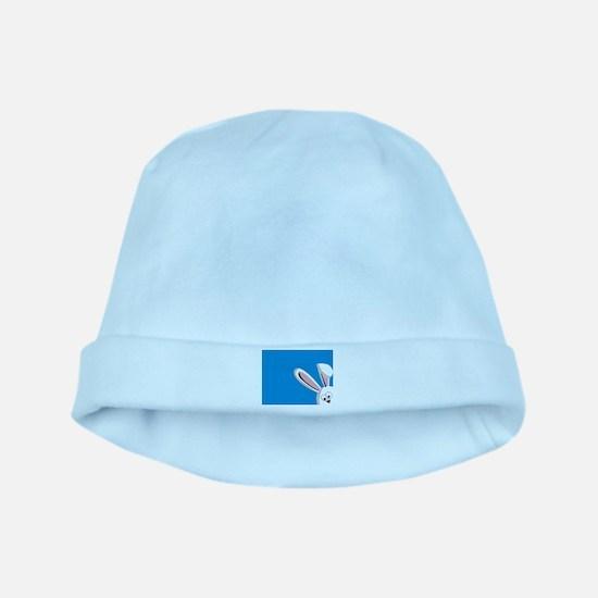 Peeking Bunny Baby Hat