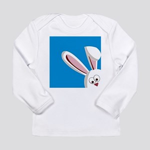 Peeking Bunny Long Sleeve T-Shirt