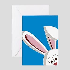 Peeking Bunny Greeting Cards