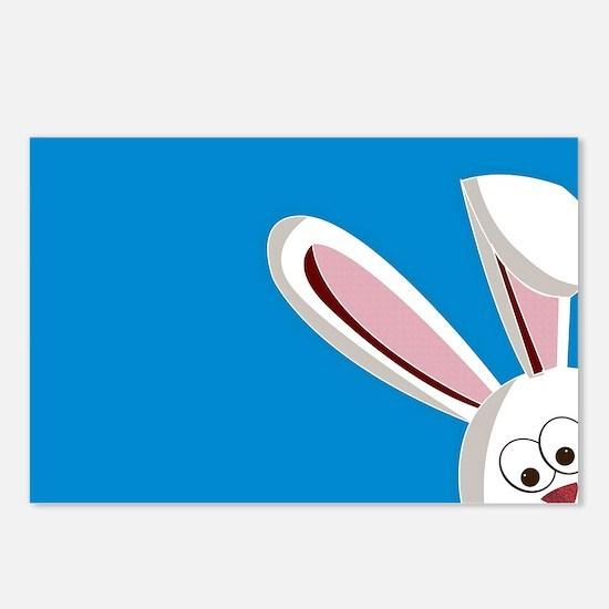 Peeking Bunny Postcards (Package of 8)