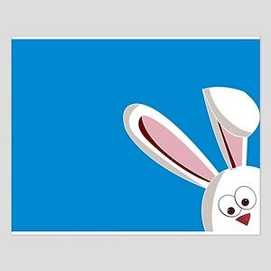 Peeking Bunny Posters