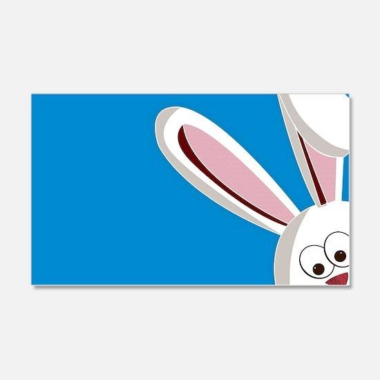Peeking Bunny Wall Decal