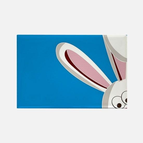 Peeking Bunny Magnets