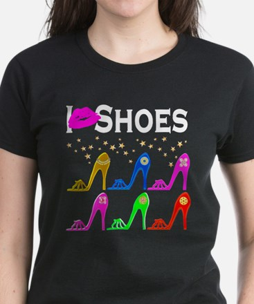 LOVE SHOES Women's Dark T-Shirt