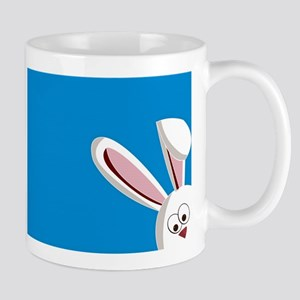 Peeking Bunny Mugs