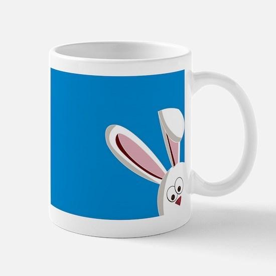 Peeking Bunny Mugs