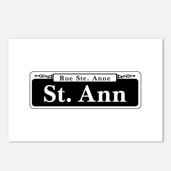 St. Ann Street, New Orlea Postcards (Package of 8)