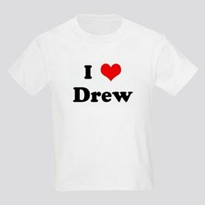 I Love Drew Kids T-Shirt