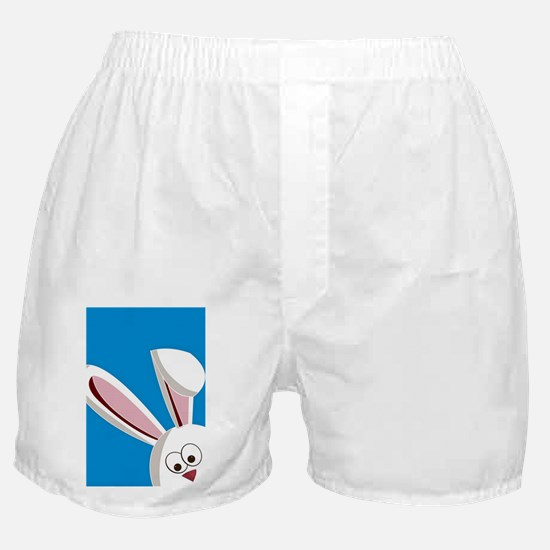 Peeking Bunny Boxer Shorts