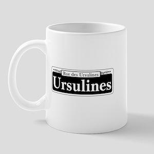 Ursulines St., New Orleans Mug