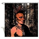 Pawnee Shaman Shower Curtain