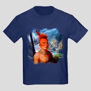 Pawnee Scout Kids Dark T-Shirt
