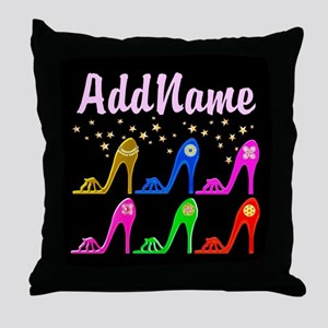 STILETTO QUEEN Throw Pillow