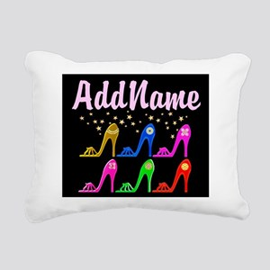 STILETTO QUEEN Rectangular Canvas Pillow