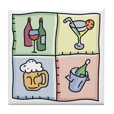 Drink Tiles Tile Coaster