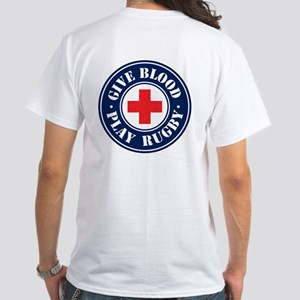 """""""Give Blood Play Rugby"""" T-Shirt"""