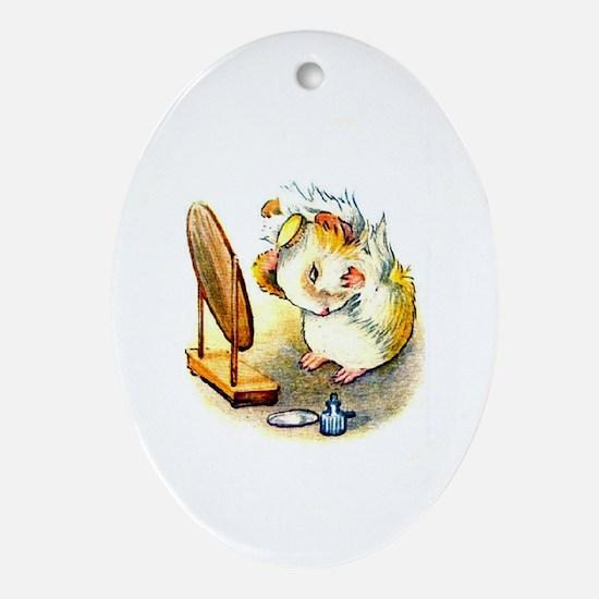 Beatrix Potter * Revamped #2 - Oval Ornament