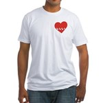 Fitted Westie Valentine's Shirt
