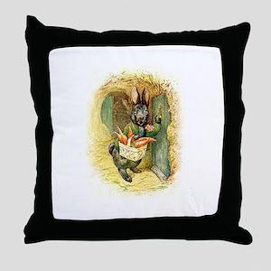 Beatrix Potter * Revamped #4 - Throw Pillow